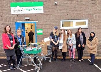 Donations to Julian Trust Night Shelter